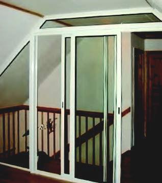 Spröba Schiebeverglasung ideal zur Abtrennung von Räumen