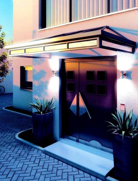 Vordach gefertigt von der Spröba Insektenschutz und Alutechnik GmbH